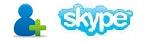 adicionar contato no skype